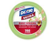 """Dixie Ultra Paper Plate - 10 1/16"""" - 186 ct."""