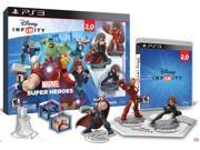 Disney INFINITY: Marvel Super Heroes (2.0 Edition) Video Game Starter Pack - PS3