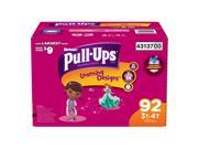 Huggies Pull-Ups Training Pants for Girls 92 Count L 3T-4T