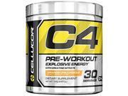 Cellucor C4 Explosive Preworkout Supplement, Orange Dreamsicle, 30 Servings