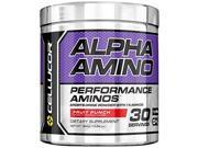 Cellucor Alpha Amino Acid Supplement with BCAA, Fruit Punch, 30 Servings