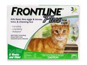 Frontline Plus Flea Tick and Lice Control for Cats and Kittens