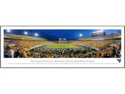 WEST VIRGINIA UNIVERSITY - END ZONE - Standard Framed Panoramic Print