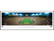 GREENBAY PACKERS - END ZONE - Standard Framed Panoramic Print