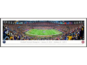 BCS FOOTBALL CHAMPIONSHIP 2012 - Standard Framed Panoramic Print