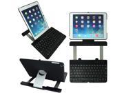 GSAGear - iPad Air Notebook Style hard shel Casel with Bluetooth Keyboard -360° Rotating View Stand