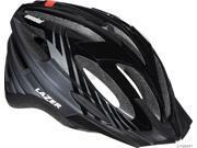 Lazer Vandal Helmet with Visor: Black/ Gray&#59; Unisize