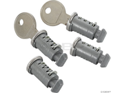 Rocky Mount Lock Cores: 4-Pack