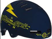Lazer Street Helmet: Black AC/DC&#59; SM