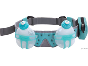 FuelBelt Revenge R20 2-Bottle Hydration Belt: Artic Blue&#59; One Size