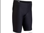 TYR Durafast Elite Swim Jammer: Black, Size 28