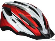 Lazer Vandal Helmet: Red/ White~ XL