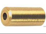 Wheels Mfg Brass Cable Ferrules, 4.0mm, Bottle of 50