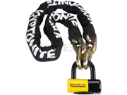 Kryptonite New York Fahgettaboudit Chain 1415 and Disc Lock: 5' (150cm)