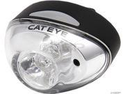 CatEye TL-LD611 Rapid1 Safety Light: Black Body, White LED