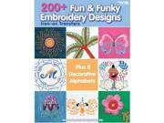 Leisure Arts-200+ Fun & Funky Embroidery Designs