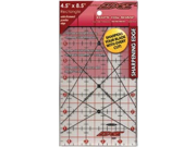 """The Cutting EDGE Frosted Ruler-4-1/2""""X8-1/2"""""""