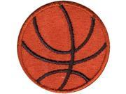 """Wrights Iron-On Appliques-Basketball 1-1/2"""" 1/Pkg"""