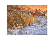 """Heirloom Collection The Hiding Place Counted Cross Stitch Ki-16""""X11-1/2"""" 28 Count"""