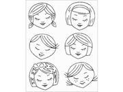 Sublime Stitching Embroidery Patterns-Cute Little Heads