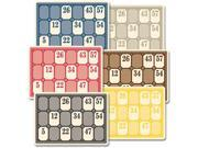 """Mini Deck Cards Tag Weight 2.5""""X3.5"""" 6/Pkg-Lotto"""