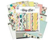 "Hey Kid Paper Pad 6""X6"" 36/Sheets-18 Single-Sided Designs/2 Each"