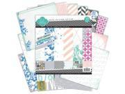 "Mixed Company Paper Pad 12""X12"" 48/Sheets-24 Single-Sided Designs/2 Each"