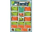 """Kids' Ancestry Cardstock Stickers 5.5""""X9""""-My Roots"""
