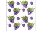 Jolee's Mini Repeats Stickers-Wine Glass and Grapes