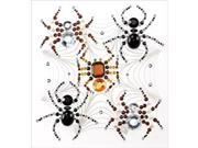 Jolee's Halloween Stickers-Beaded Spiders