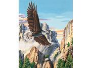 """Paint By Number Kit 16""""X20""""-Soaring Eagle"""