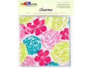 "Fabric Palette Charm Pack 5""X5"" Cuts 100% Cotton 20/Pkg-Kingston"