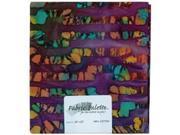 """Novelty & Quilt Fabric Pre-Cut 100% Cotton 21"""" Wide 1/4yd-Purple Batik"""