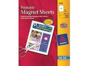 """Ink Jet Magnet Sheets-Matte White 8-1/2""""x11"""" 3/Pkg"""