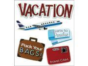 Jolee's Boutique Dimensional Stickers-Vacation