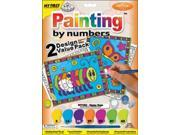 "My First Paint By Number Kit 8-3/4""X11-3/8"" 2/Pkg-Happy Bugs"