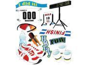 Jolee's Boutique Dimensional Stickers-Marathon Runner