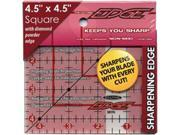 """The Cutting EDGE Frosted Ruler-4-1/2""""X4-1/2"""""""
