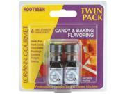 Candy & Baking Flavoring .125 Ounce Bottle 2/Pkg-Rootbeer