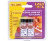 Candy & Baking Flavoring .125 Ounce Bottle 2/Pkg-Key Lime