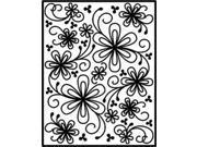 Spellbinders Impressabilities Dies-Flower Silhouette