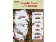 Leisure Arts-Fingertip Friends For The Holidays