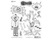 Dyan Reaveley's Dylusions Cling Stamp Collection-Mischievous Malcom