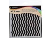 """ColorBox Screens 6""""X6""""-Groovy"""