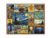 "Jigsaw Puzzle 1000 Pieces 24""X30""-Vincent Van Gogh"