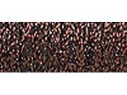 Kreinik Fine Metallic Braid #8 10 Meters (11 Yards)-Brown