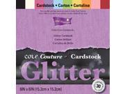 "Core'dinations Core Couture Cardstock Pack 6""X6"" 30/Pkg-Glitter"
