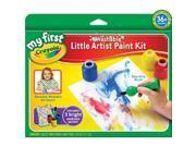 Crayola My First Crayola Little Artist Paint Kit-