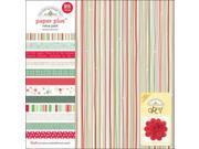 """Paper Plus Assortment Pack 12""""X12"""" Sheets 12/Pkg-Christmas"""