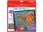 Color By Number Kit-Octopus